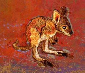 Joey the Kangaroo illustration