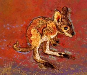 Joey the Kangaroo illustration