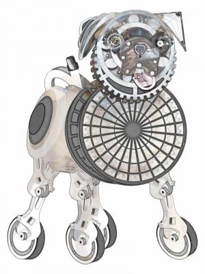 Steampunk Pug