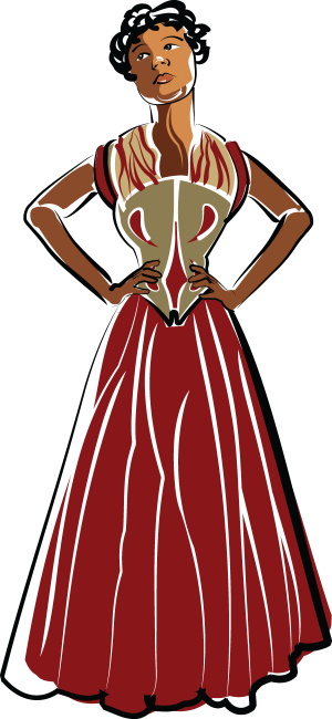 African American Woman illustration