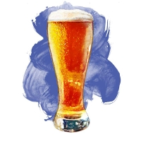 15. Food Illustration: Beer