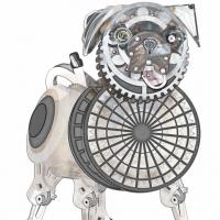 20. Fantasy Illustration: Steampunk Pug